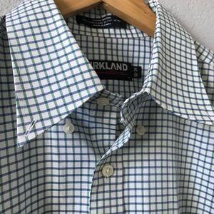 Kirkland Non-Iron Long Sleeve Button Down Shirt